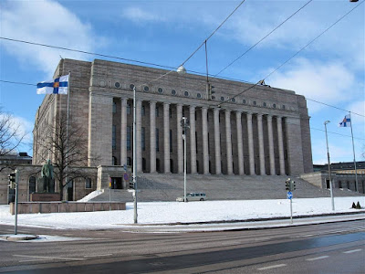 Parlamento finlandés (Eduskuntatalo)
