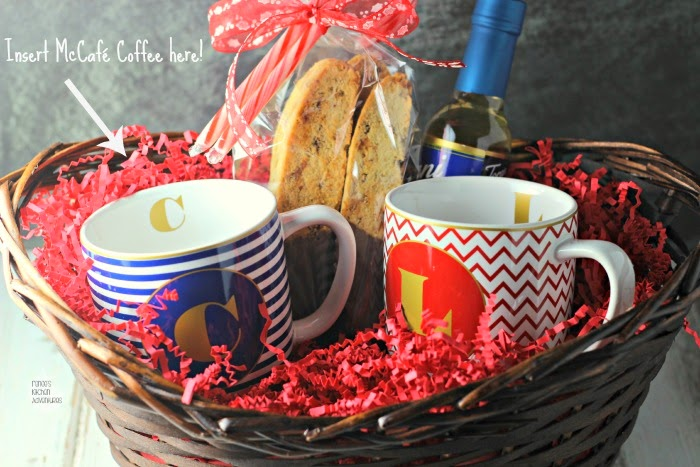 Holiday Gift Idea | Renee's Kitchen Adventures Make a coffee basket!