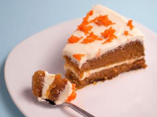 Tarta de zanahoria y queso