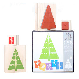 Stempelset Weihnachtsbaum (Box 10,5x10,5cm)
