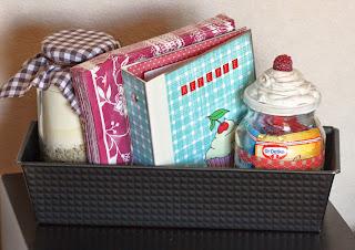 Kreative ideen rund ums basteln scrapbooking kochen und backen ringbuch rezepte - Erste gemeinsame wohnung geschenk ...