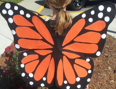 Halloween costumes for kids butterfly 4