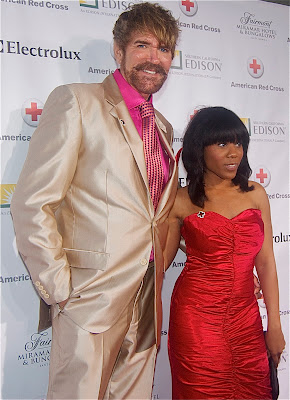 Celebrity makeup artist Jeffery Fetzer and stylist Gabrielle Lewis