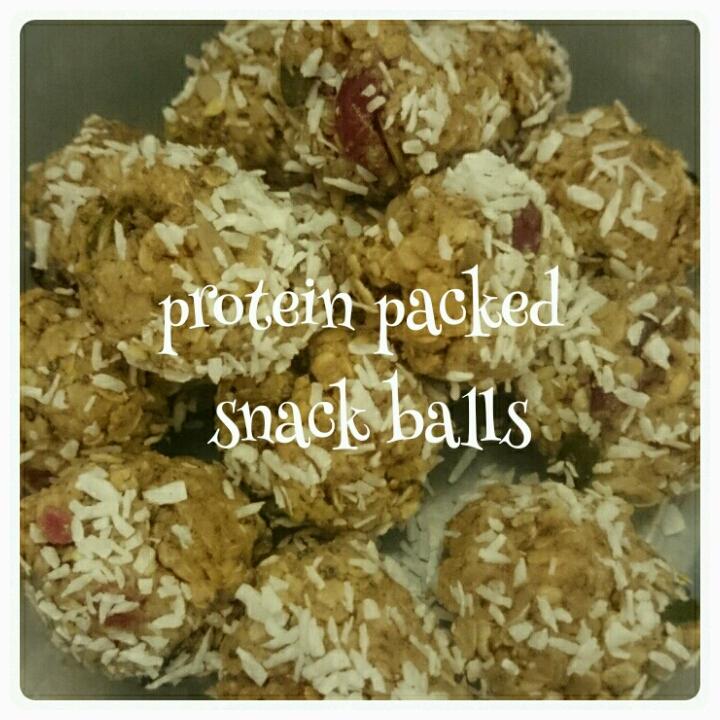 protein snack balls