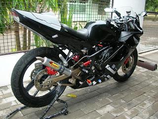 Modifikasi Kawasaki ninja 150 rr
