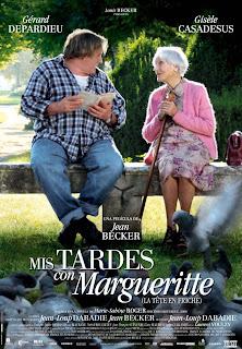 Mis tardes con Margueritte Poster