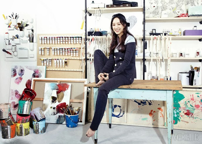 Jeong Ryeo Won - Vogue Magazine March Issue 2014