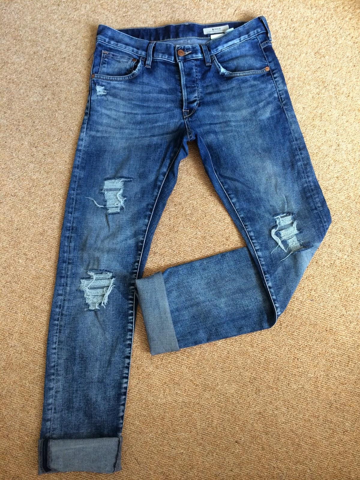 Etrala London Blog : DIY: Distressed Boyfriend Jeans Diy Distressed Boyfriend Jeans