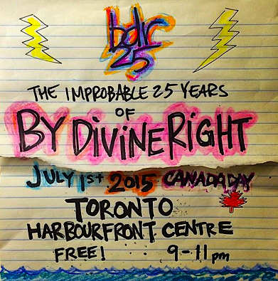 By Divine Right @ Harbourfront Centre, July 1