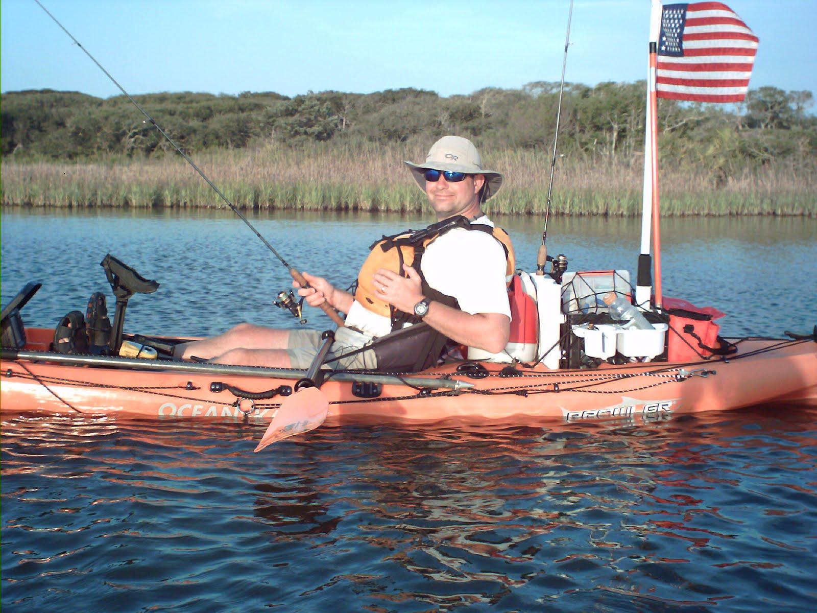 Action kayak adventures saint augustine kayak fishing st for Fishing st augustine