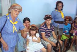 Visita da SOBAC às crianças do Hospital do Hemope