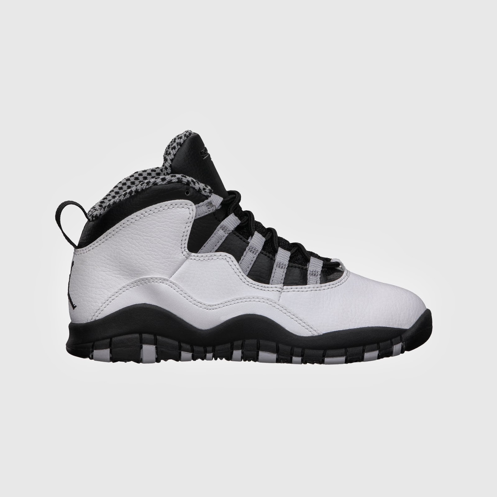 Air Jordan Retro 10 Little Boys' Shoe. White ...