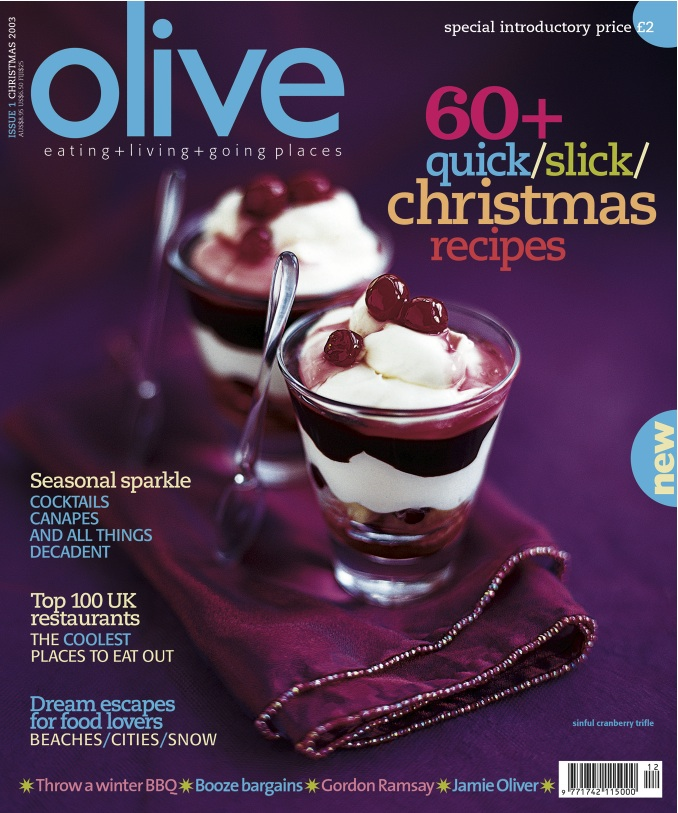 Bbc good food magazine the history of food photography olive issue 1 december 2003 forumfinder Images