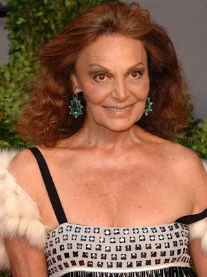 Diane von Furstenberg Dangling Gemstone Earrings