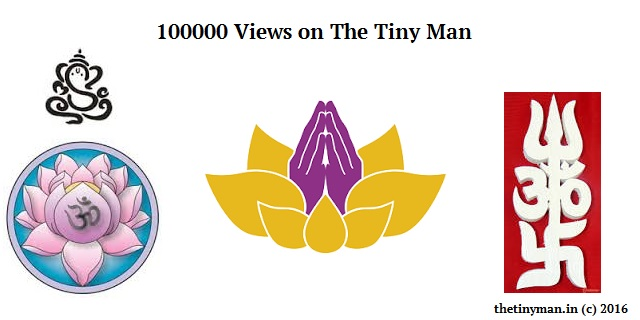 100000 Views on The Tiny Man