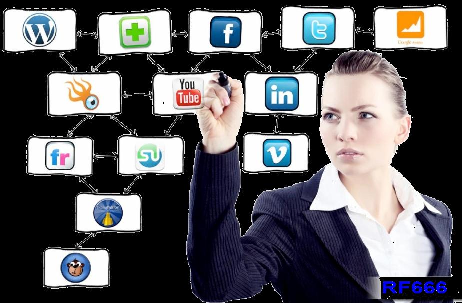 Buat Akun di berbagai Sosial Media