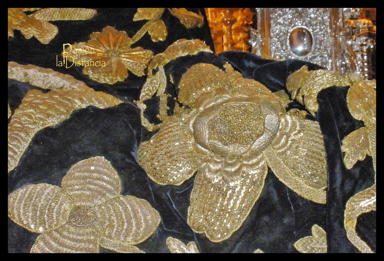 La Carretería , manto 1959, bambalinas 1971 siguiendo diseño 1886 hermanas Antúnez
