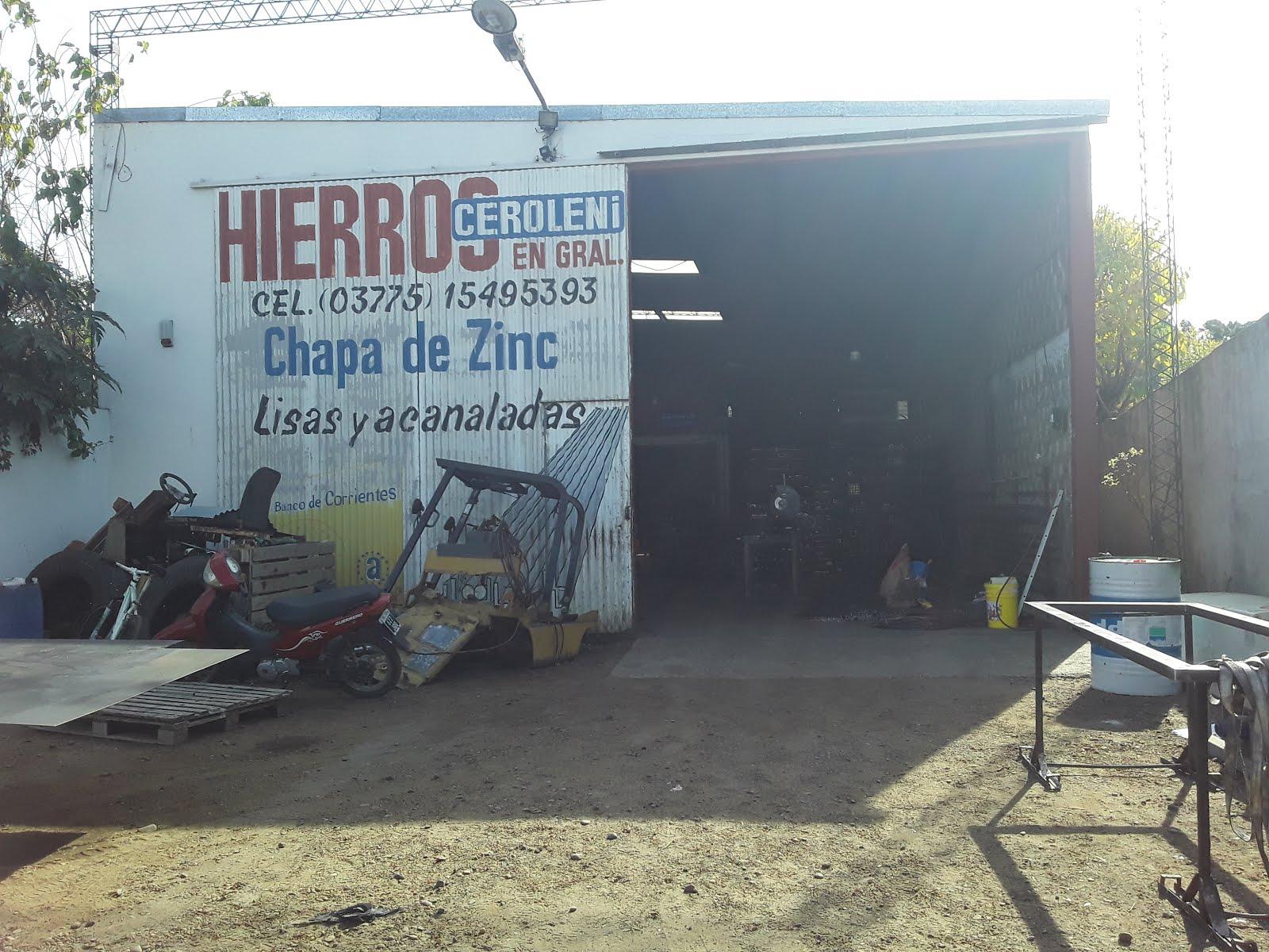 HIERROS CEROLINI