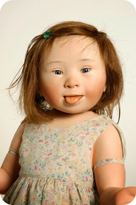 Babi a Fi: Miniature Monday: Dolls with Down's Syndrome