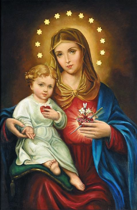 S. Corazones de Jesús y María