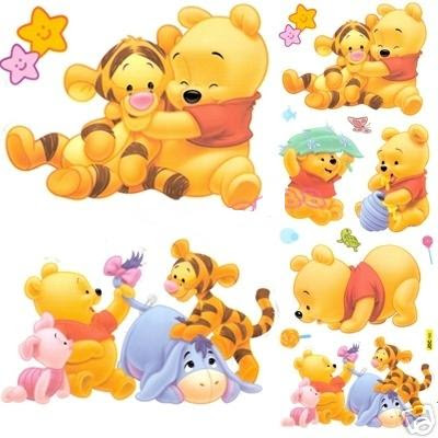 Baby Winnie the Pooh and friends download freely for wallpapers
