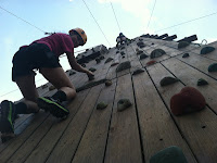 Climbing Wall Team Building Challenge at Upward Enterprises