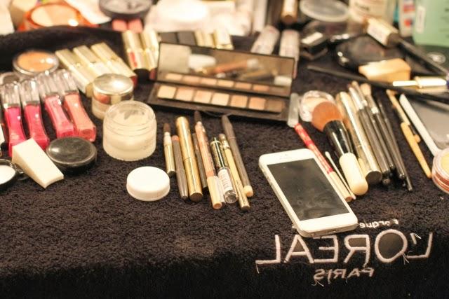 Maquillaje pasarela L'oréal MBFWMadrid