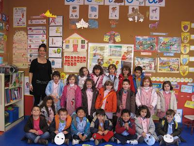 NUESTRA CLASE DE 4 AÑOS