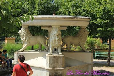 """""""Fuente de la Alhambra"""" en Hohenschloss"""