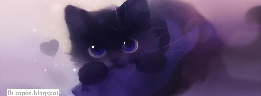 Capa para facebook fb capas blogspot gato desenho