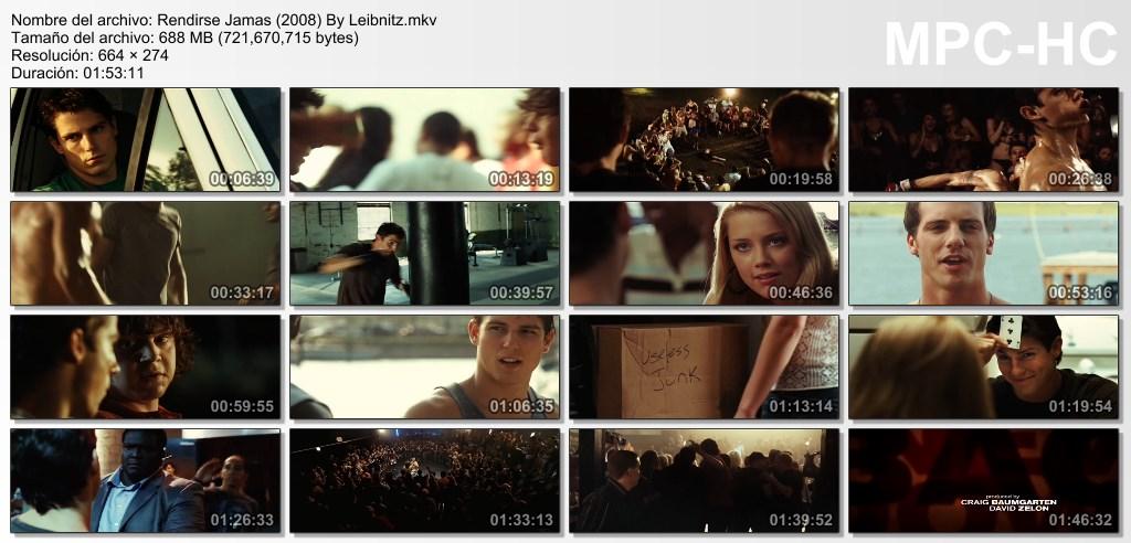 Rendirse Jamas [DvdRip] [Latino] [2008]