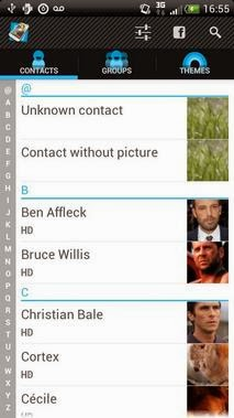 Full Screen Caller ID PRO android apk - Screenshoot