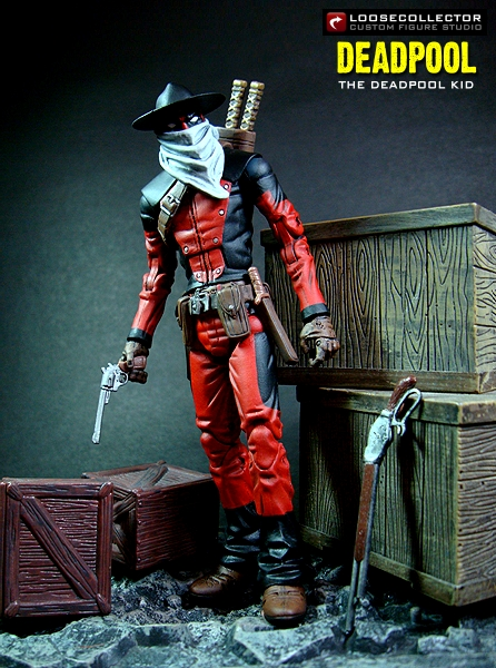 loosecollector custom action figures official website  deadpool the kid