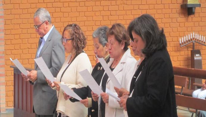 Renovación de compromisos a la Unión del Apostolado Católico enero de 2016