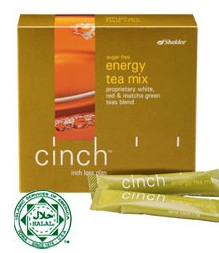 shaklee cinch tea mix