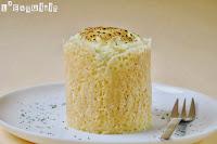 Timbal de parmentier con boloñesa y crujiente de queso
