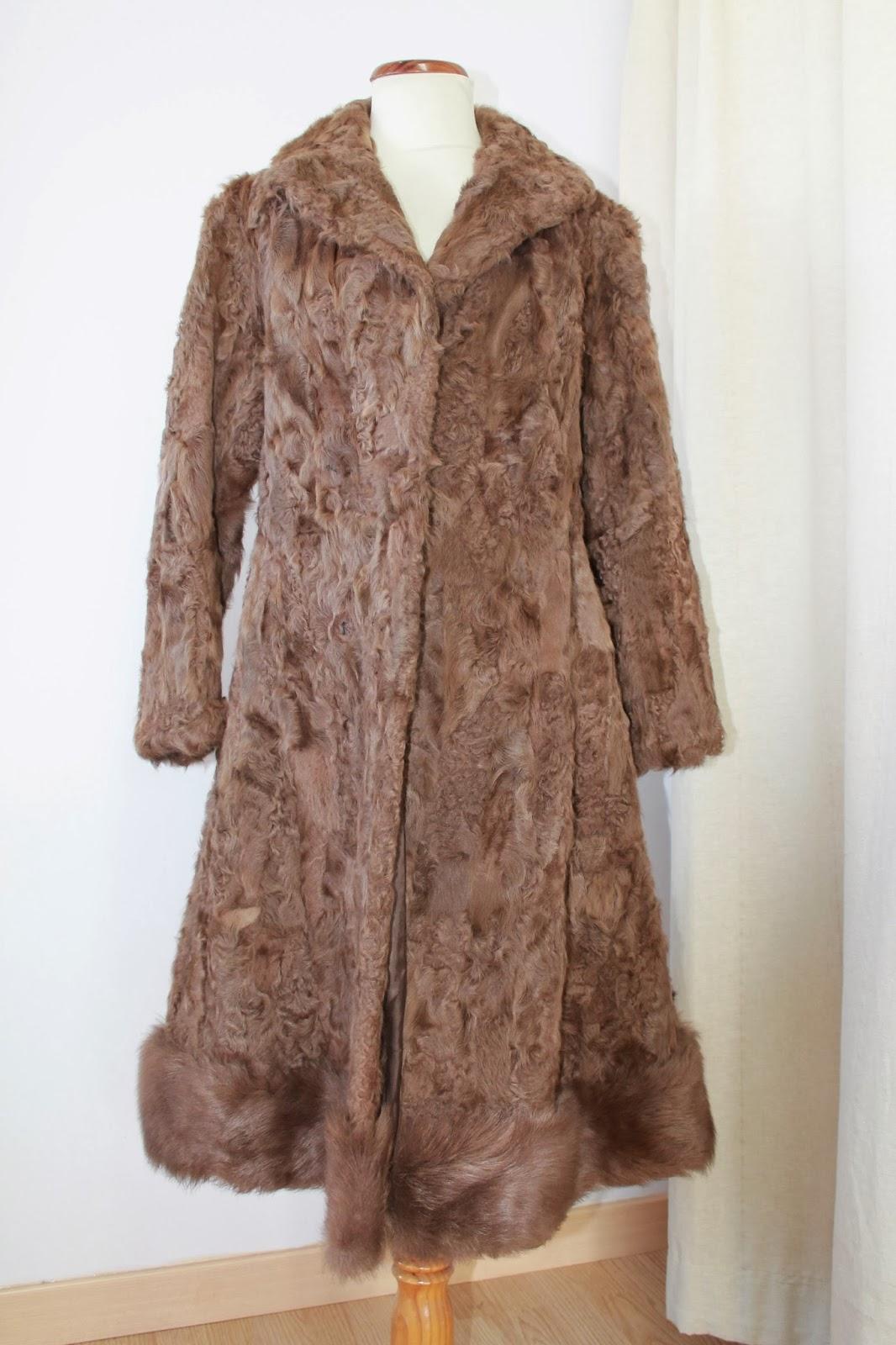 Abrigo de piel de foca precio