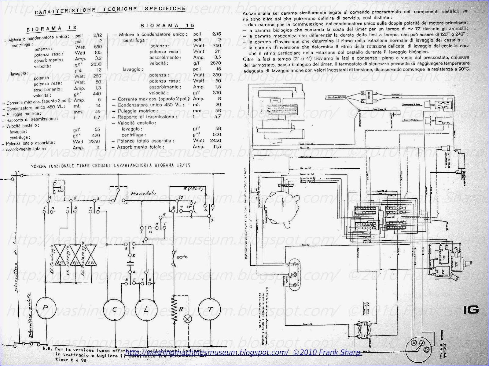 washing machine schematic