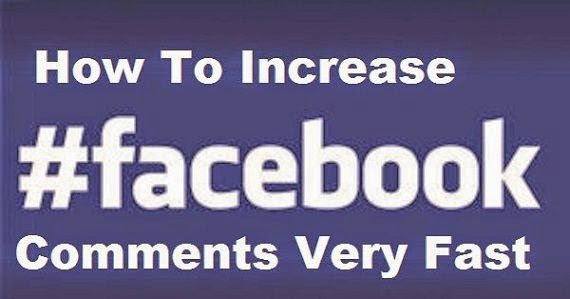 How to Increase comments and likes on facebook image photo