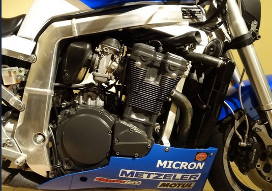 ketting onderhoud motor
