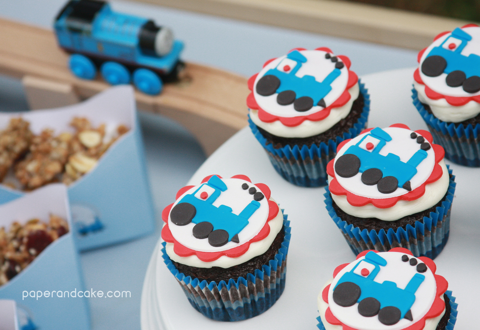 paper and cake New Party All Aboard the Printable Train
