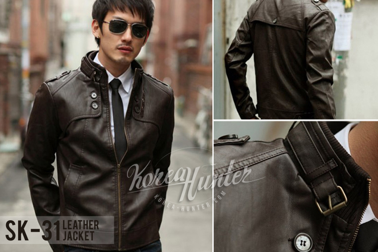 KOREA-HUNTER.com jual murah Jaket Kulit Korean Style | kaos crows zero tfoa | kemeja national geographic | tas denim korean style blazer