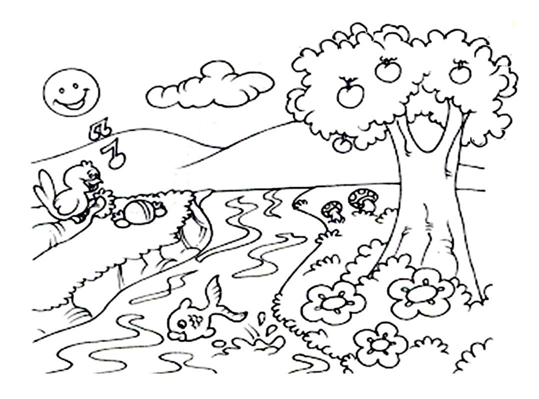 El Cuidado Del Medio Ambiente Dibujos Para Colorear