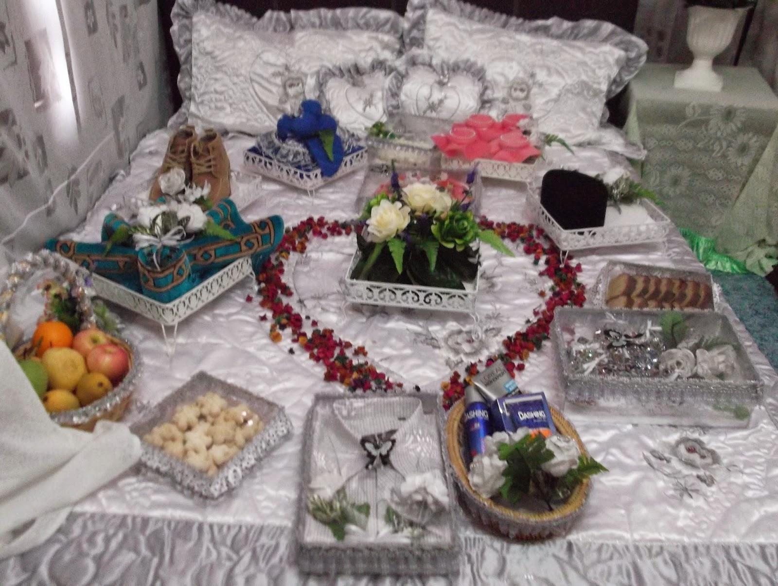 gubahan hantaran perkahwinan