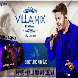 Cristiano Araújo ao Vivo no VillaMix São Luis-MA CD Capa