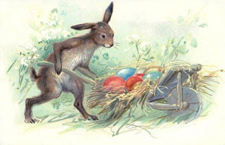 A Mama Bunny And Her Little Boy Late Victorian Era