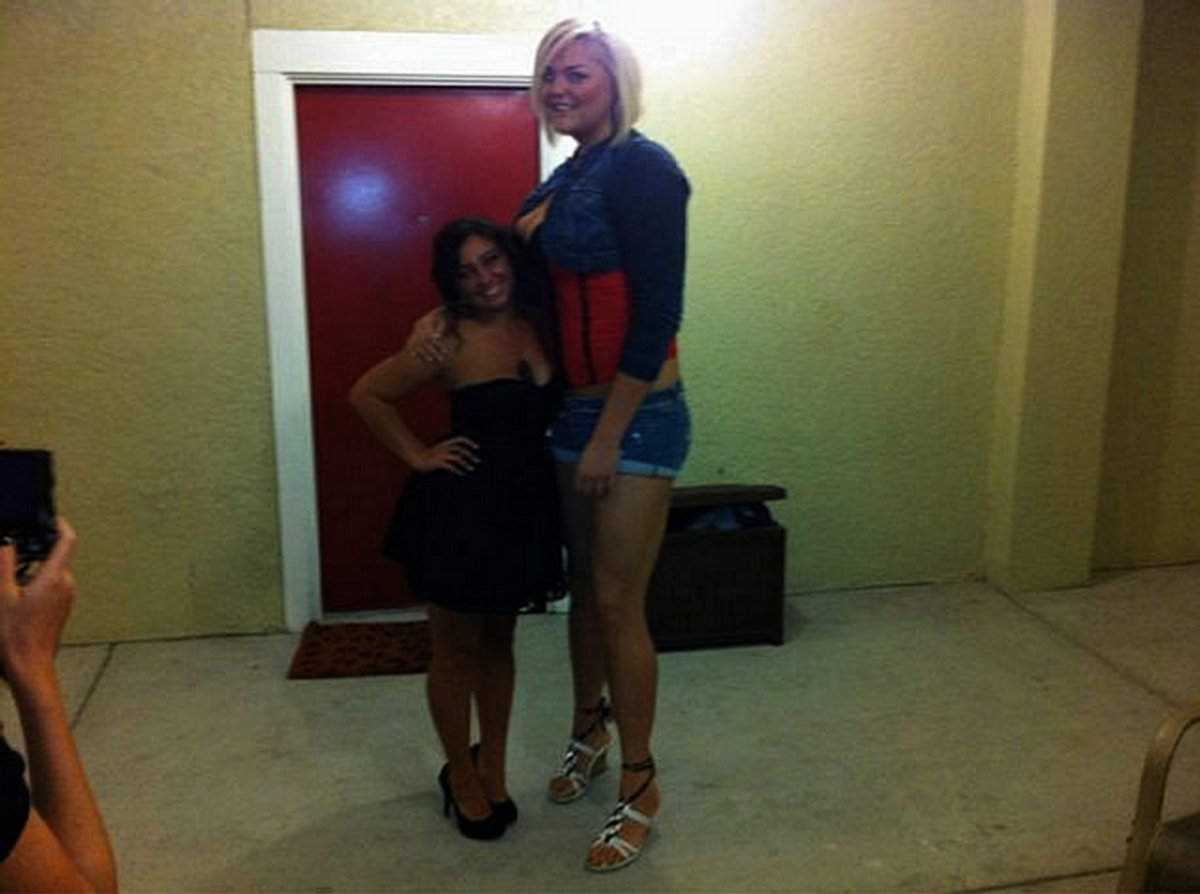 Фото очень высоких девушек 3 фотография
