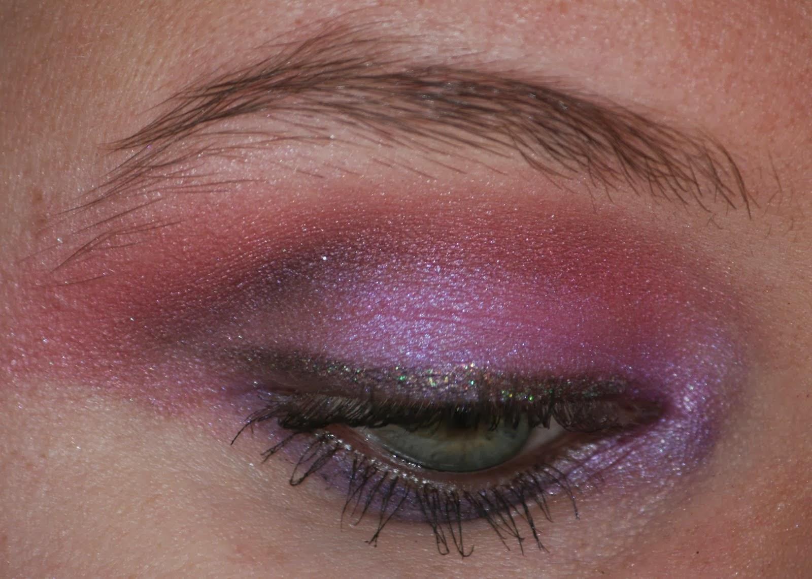 Violet Eye MakeUp