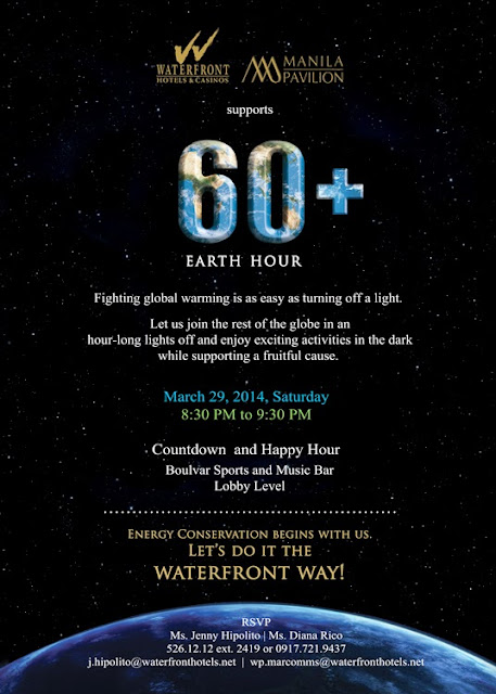 Earth Hour 2014 in Manila Philippines