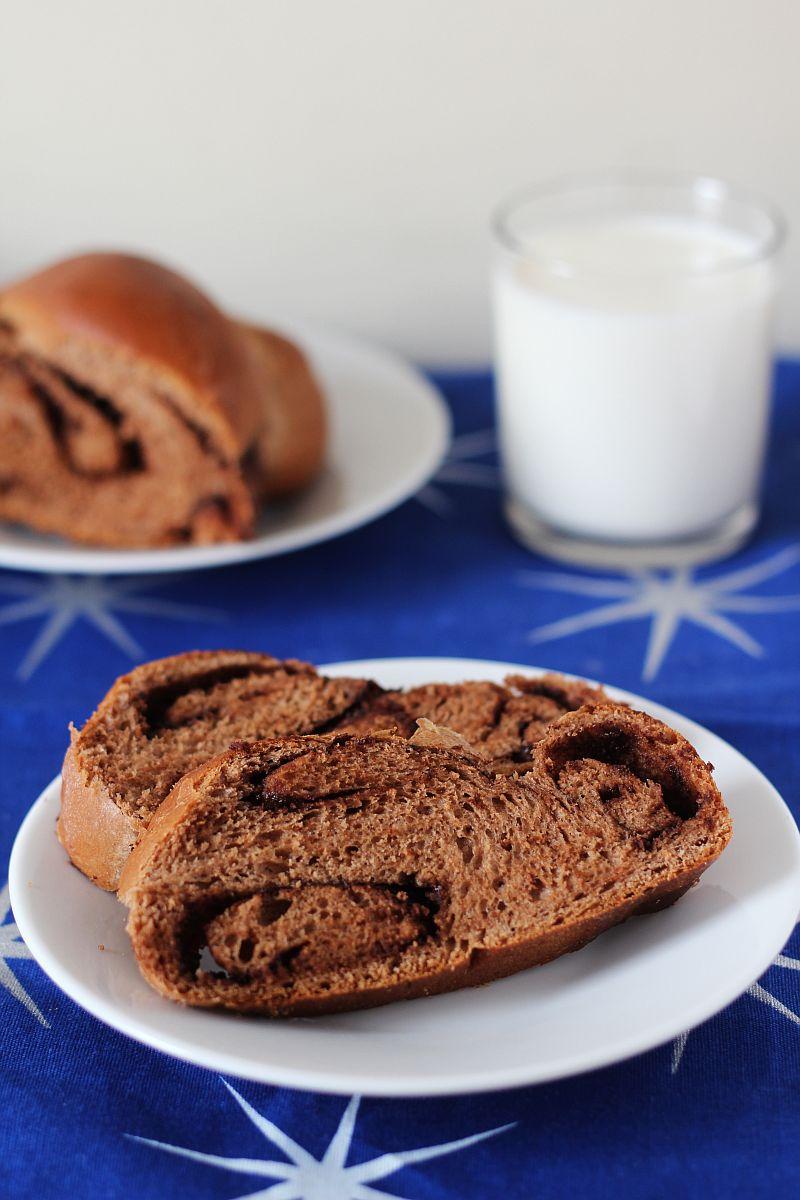 Chałka czekoladowa
